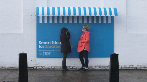IBM outdoor lion cannes